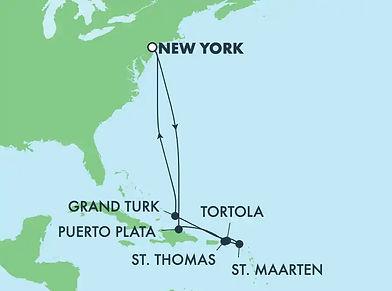 Croisière République Dominicaine, Caraibes & Iles Turquoises - Norwegian Gem