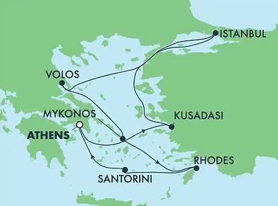 Au coeur des Météores - croisière Iles Grecques & Turquie
