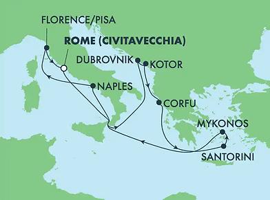 Iles Grecques & Méditerranée