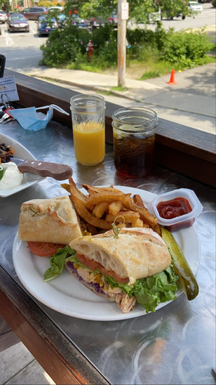 Side Street Cafe in Bar Harbor, Maine by Biteinerary