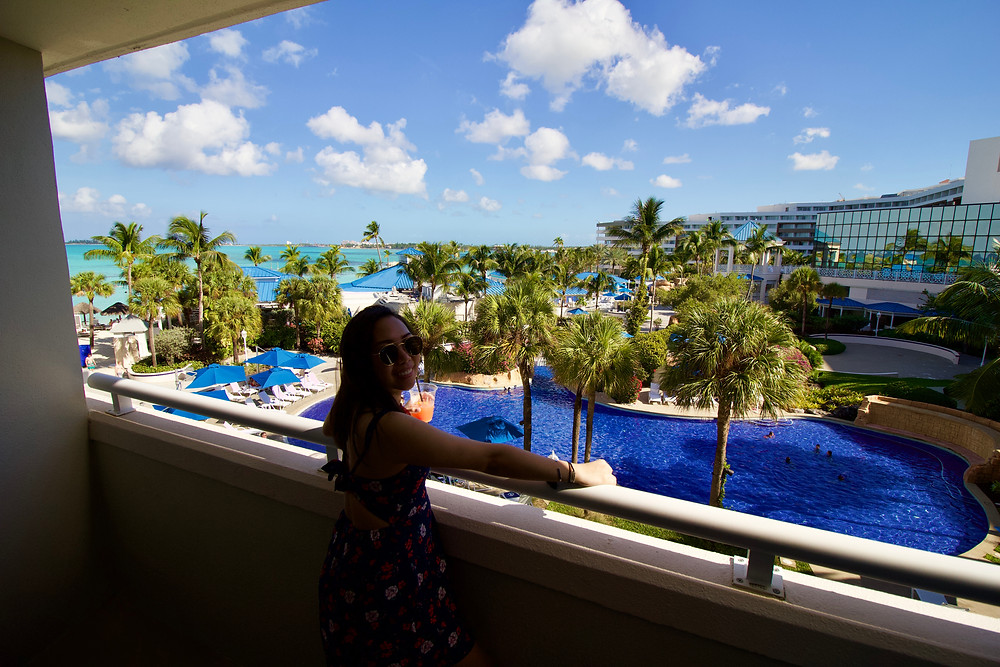 Hotel room view at the Melia Nassau All-Inclusive by Biteinerary