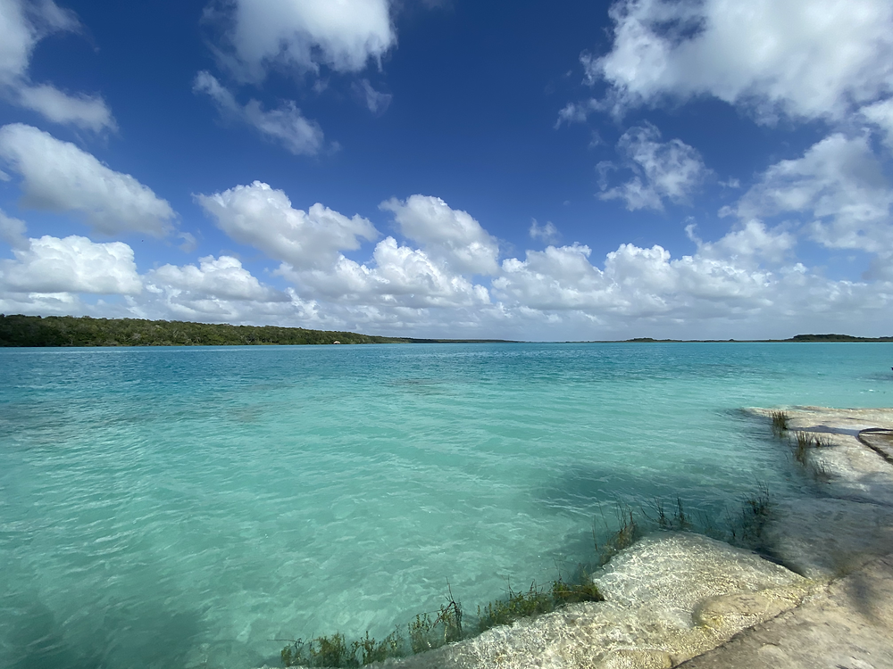 Bacalar Lagoon in Costa Maya, Mexico by Biteinerary