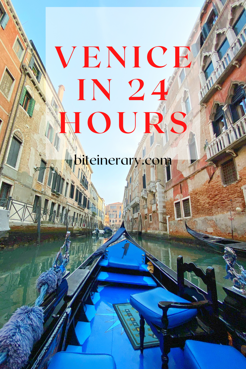 Explore Venice, Italy in 24 hours by Biteinerary