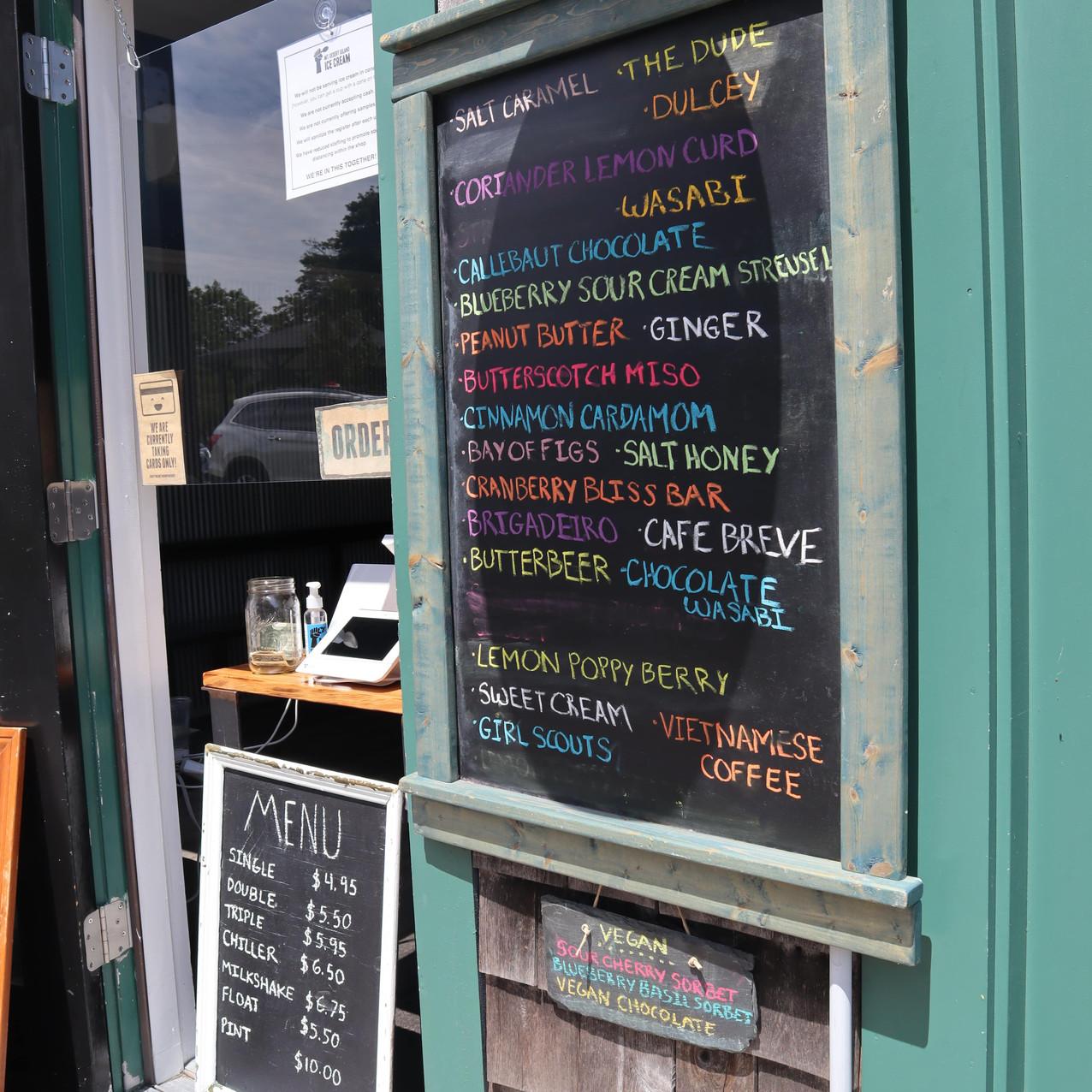 Mt. Desert Island Ice Cream in Bar Harbor, Maine by Biteinerary
