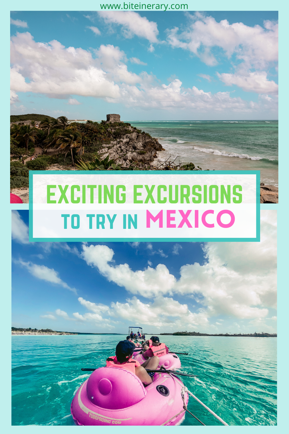 Fun Excursions to Try in Costa Maya and Cozumel Mexico by Biteinerary