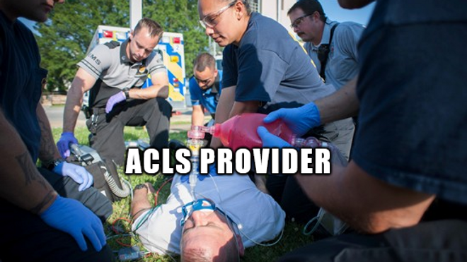 ACLS Provider (Full Course) || October 15-16, 2020