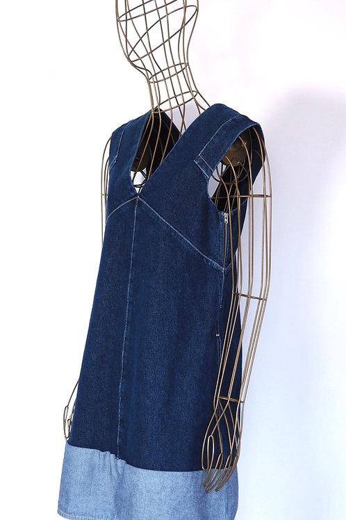 COS Denim Contrast Dress