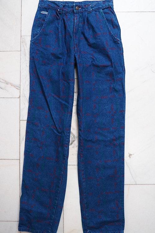 WEEKEND Vintage Pattern Jeans