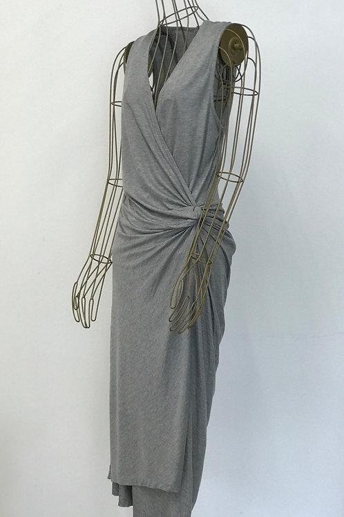H&M Grey Wrap Dress