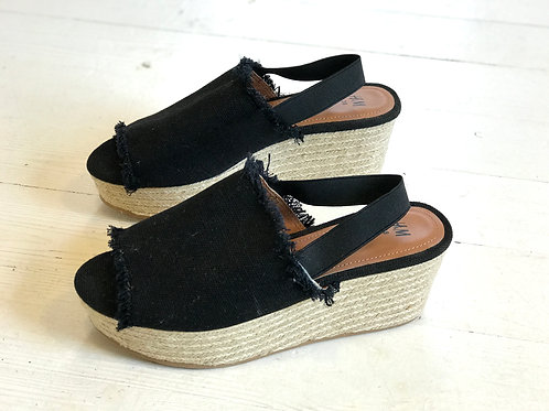 Canvas Wedges H&M