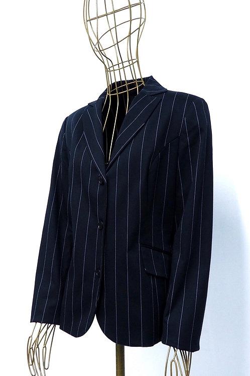 BENETTON Striped Blazer