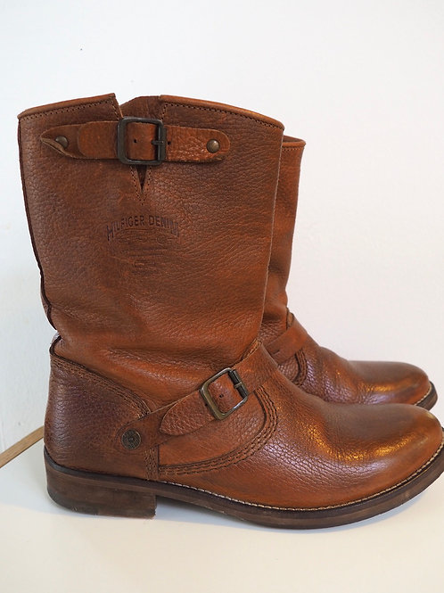 HILFIGER DENIM Buckled Boots