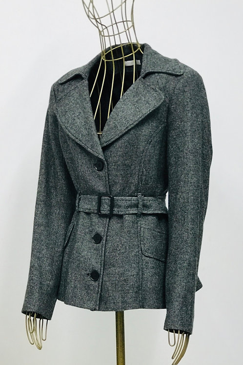 Promod Grey Jacket with Belt