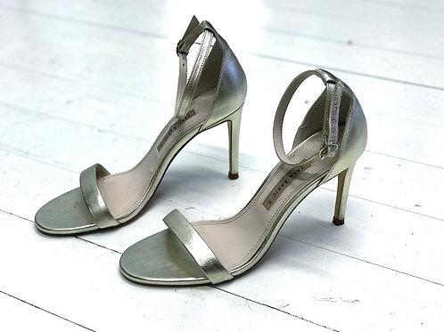 ZARA Golden Heels