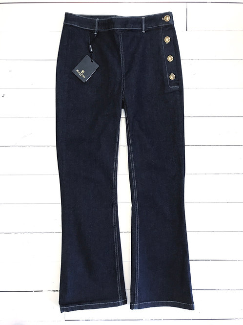 Massimo Dutti Denim with Golden Buttons
