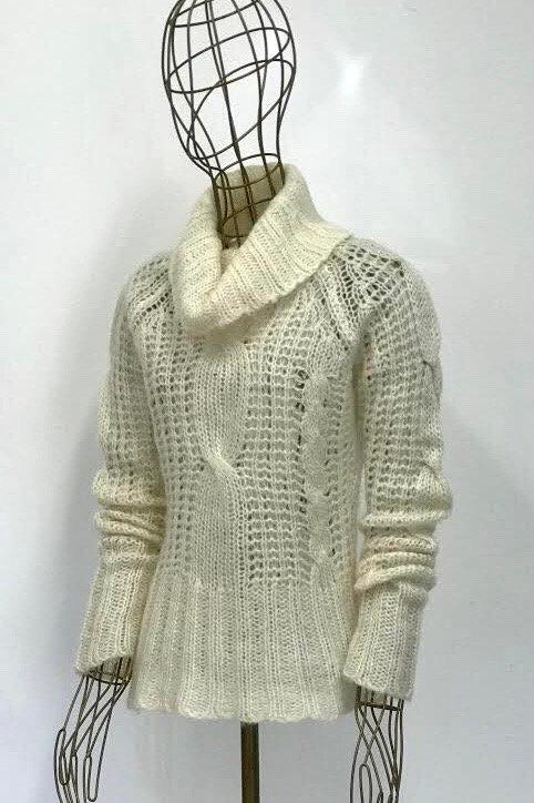 Only Cream Turtleneck Knitwear
