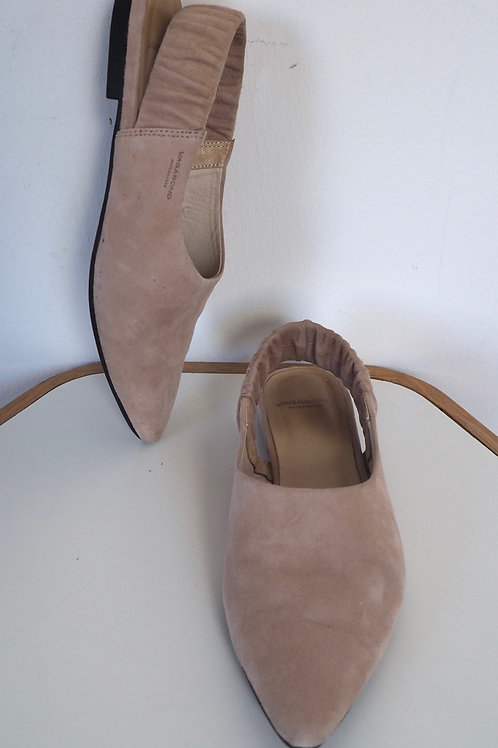 VAGABOND Pastel Leather Flats