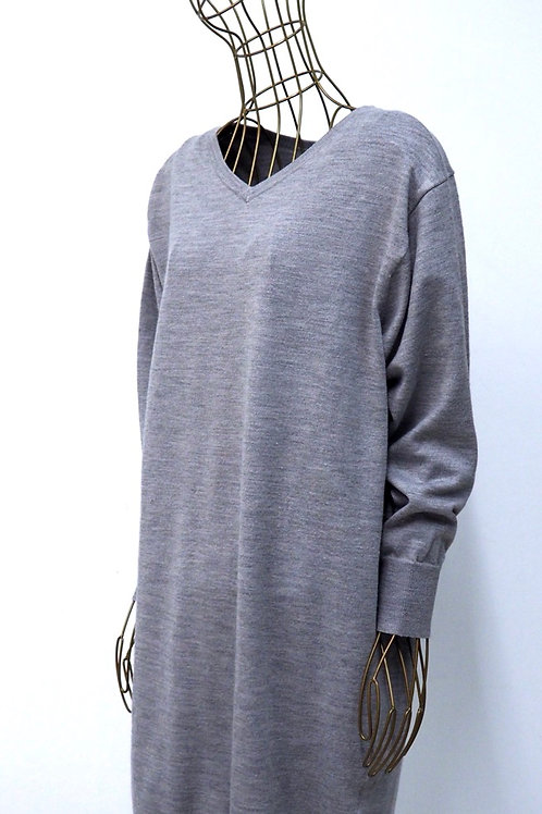 UNIQLO Grey Knit Dress