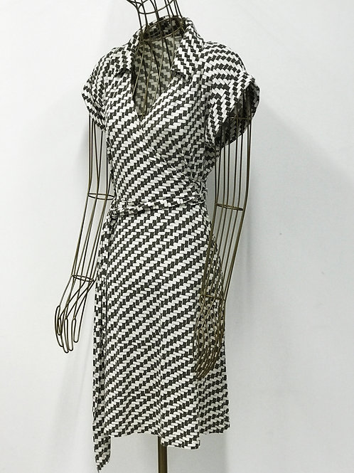 Patterned Wrapdress Banana Republic