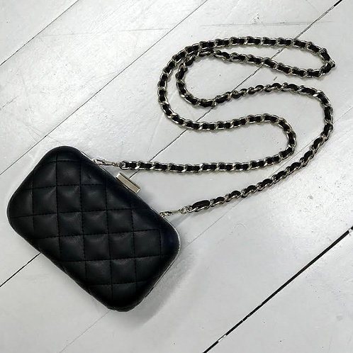 Zara Trf Quilted Clutch