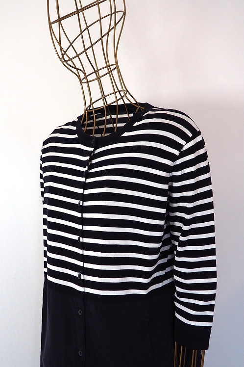 COS Striped Shirtdress