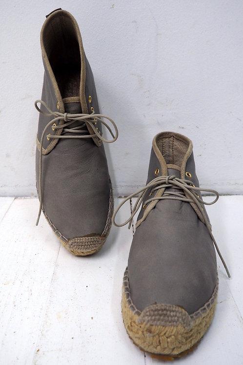 NANUSHKA Soft Leather Espadrilles