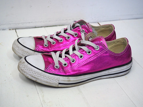CONVERSE Chuck Taylor Shiny Pink Sneakers