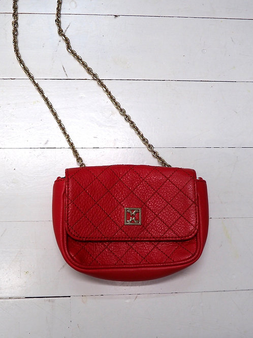 COCCINELLE Leather Minibag with Chain