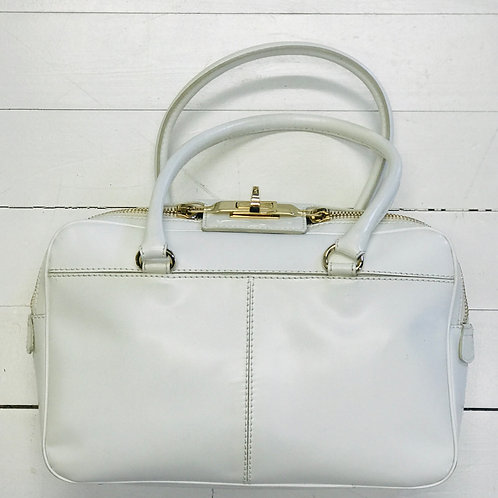 MaxMara White Doctor Bag
