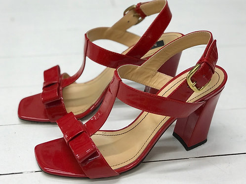 MUSETTE Red Heels with Bow
