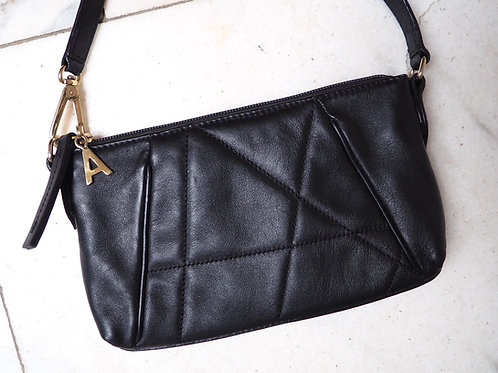 LEATHER Quilted Minibag