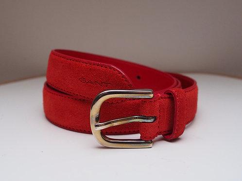 GANT Red Leather Belt