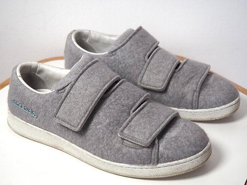 ACNE STUDIOS Leather/Wool Sneakers