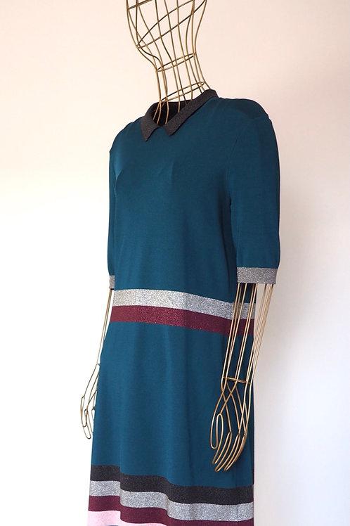 TED BAKER Color Block Knit Dress