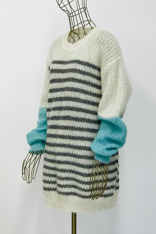 COS Contrast Knitted Sweater