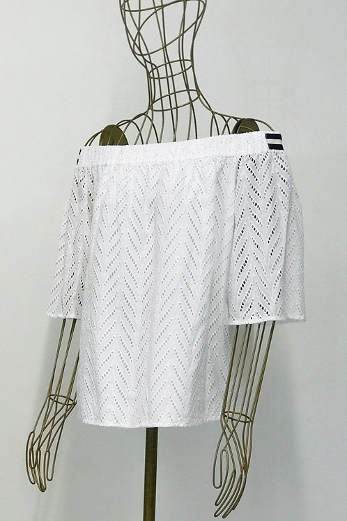 Armani Exchange Off Shoulder Blouse