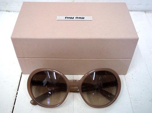 MIU MIU Pastel Bronze Sunglasses