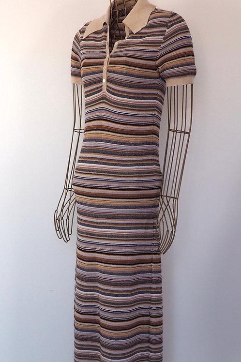 NANUSHKA Striped Knit Dress