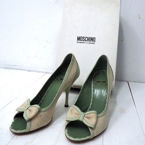 MOSCHINO Bow Heels