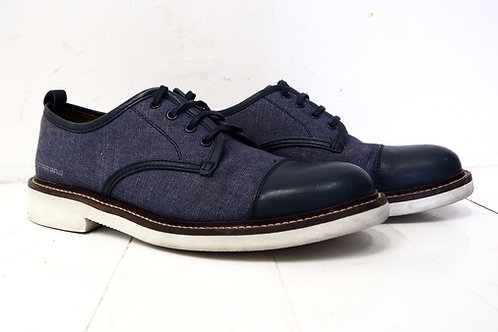 G-Star Denim and Leather Oxford Shoes
