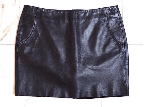 HALLHUBER Leather Miniskirt
