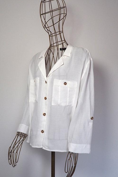 BERSHKA Buttoned Shirt