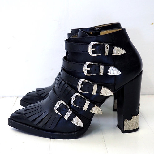 TOGA Buckled Ankleboots