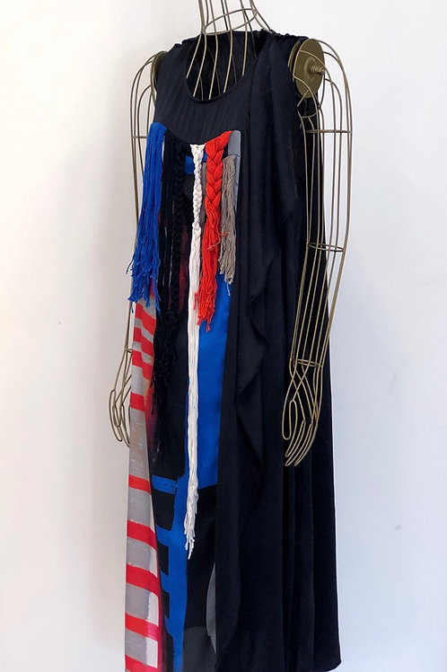 NUBU Fringe Dress