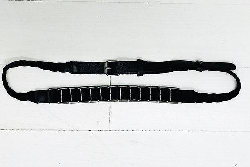 Leather Breaded Belt