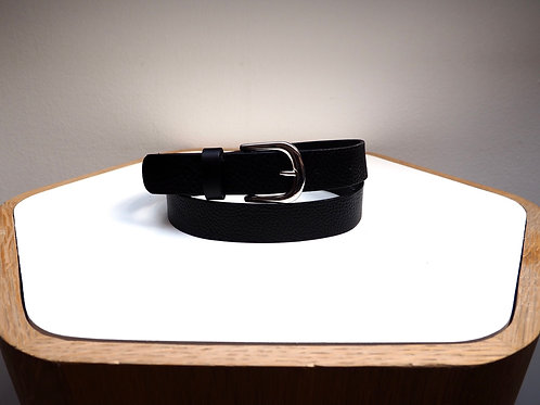 H&M Black Leather Belt