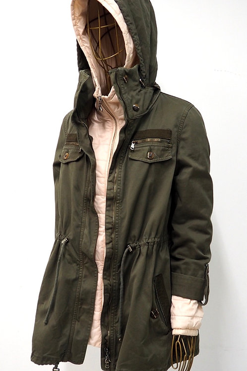 PATRIZIA PEPE Parka with Down Jacket 2 in 1
