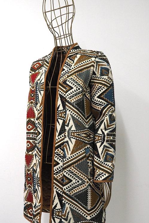 MANGO Tribal Coat