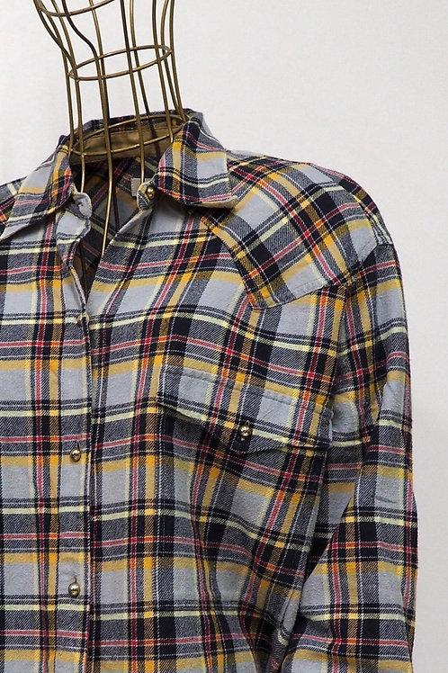 NANUSHKA Tartan Flannel Shirt