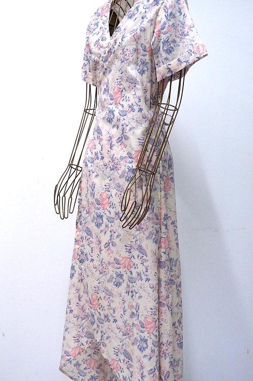KAMALA KAFTAN Floral Wrap Dress